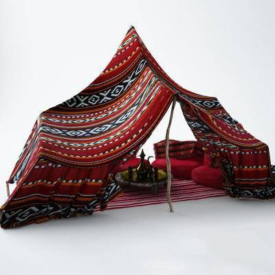 下得乐品牌模型库, 东南亚, 帐篷