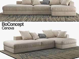 丹麦BoConcept现代多人沙发4