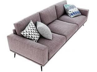 丹麦BoConcept现代布艺三人沙发