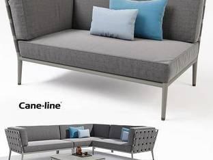 丹麦CANE-LINE休闲沙发茶几