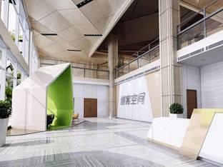 公司大厅大堂3D模型