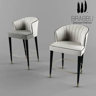 2000套高精3D单体模型, 后现代, 吧椅