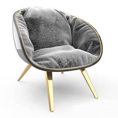 2000套高精3D单体模型, 后现代, 椅子, 单椅
