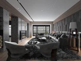 唐忠汉世界花园桥峰客厅2012_3d模型