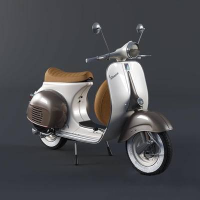 2000套国外模型, 下得乐品牌模型库, 现代, 摩托车, 复古摩托车