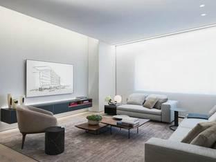安藤忠雄现代客厅沙发组合3D模型