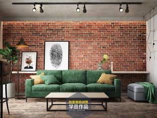 客厅3d模型3