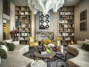 布鲁盟现代客厅3D模型