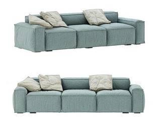 意大利Bonaldo现代布艺多人沙发