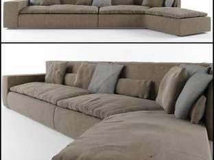 意大利Frigerio现代多人沙发