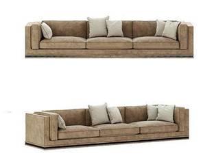 意大利Longhi现代三人沙发