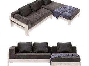 意大利Minotti现代多人转角沙发