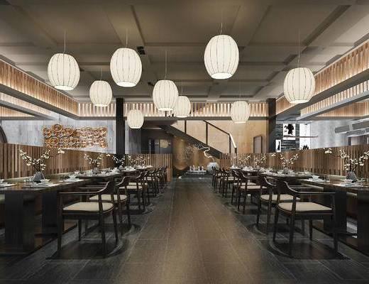 下得乐2019季千套模型, 日式, 餐厅