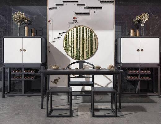 新中式, 桌椅组合