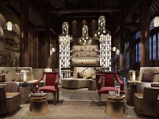 新中式酒吧休闲区_3d模型
