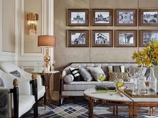 朗昇设计后现代沙发组合3D模型