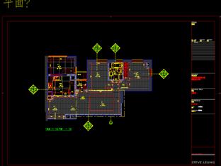 梁志天——上海老西門新苑C1,C2,樣板房施工图