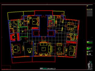 梁志天——上海陸家嘴中央公寓一期施工图