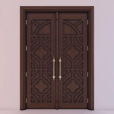 欧式, 双开门, 门