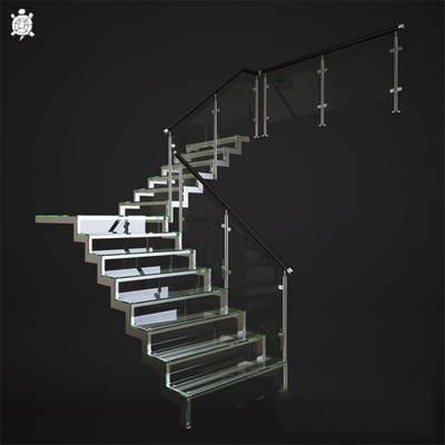 2000套高精3D单体模型, 欧式, 楼梯, 扶手