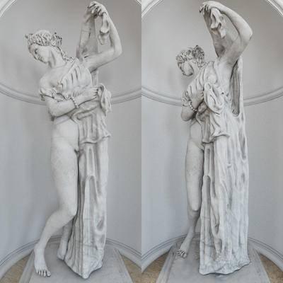 2000套高精3D单体模型, 欧式, 雕塑, 石膏雕塑, 摆件
