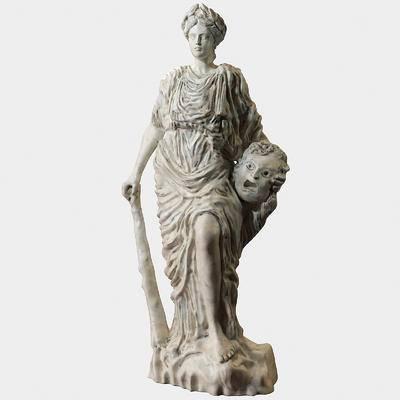 2000套高精3D单体模型, 欧式, 人物雕塑, 雕塑