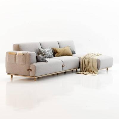 下得乐第六季千套模型, 现代, 转角沙发, 沙发, 拐角沙发, 多人沙发