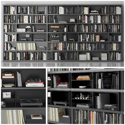 现代, 书籍, 书架