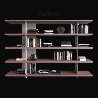 2000套高精3D单体模型, 现代, 书籍, 摆件