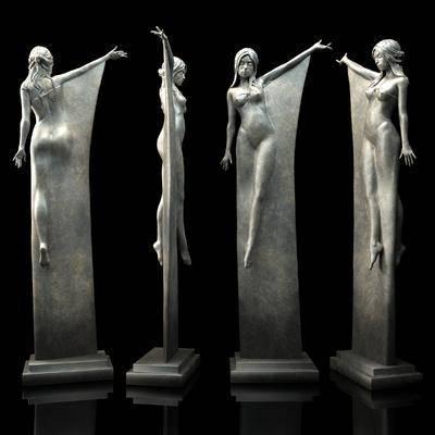 2000套高精3D单体模型, 现代, 雕塑, 人物雕塑, 摆件