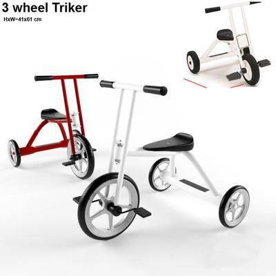 2000套高精3D单体模型, 现代, 儿童三轮车