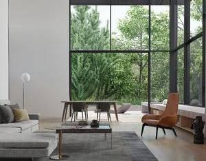现代别墅客厅3D模型3_3d模型