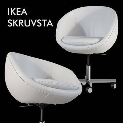 下得乐品牌模型库, 现代, 办公椅
