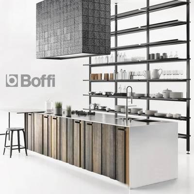 2000套高精3D单体模型, 北欧, 橱柜, 厨房