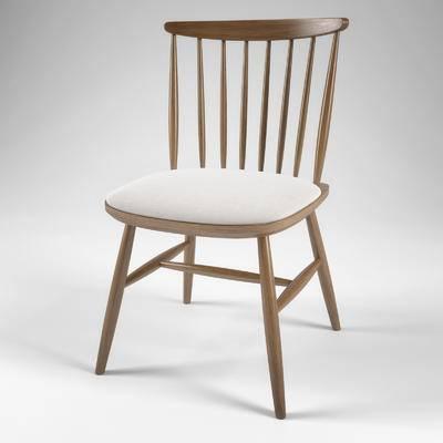 2000套国外模型, 北欧, 单椅, 椅子