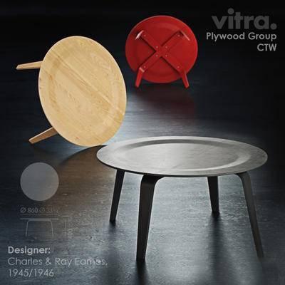 2000套高精3D单体模型, 下得乐品牌模型库, 北欧, 边几, 茶几