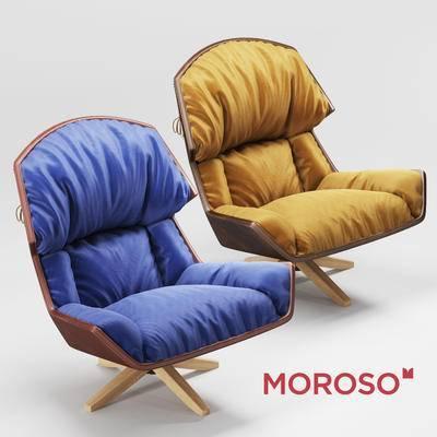 2000套国外模型, 现代, 单人沙发, 休闲沙发