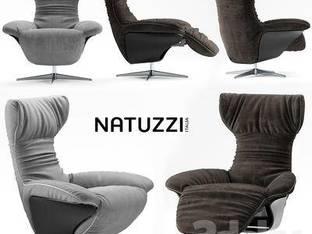 现代单人沙发靠背椅