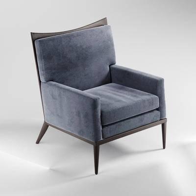 现代, 单人沙发, 沙发