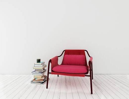 下得乐2019季千套模型, 现代, 椅子, 单椅