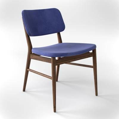 下得乐品牌模型库, 现代, 单椅