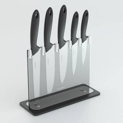 2000套高精3D单体模型, 现代, 厨具, 刀具