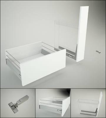 2000套高精3D单体模型, 现代, 橱柜, 抽屉柜, 柜子