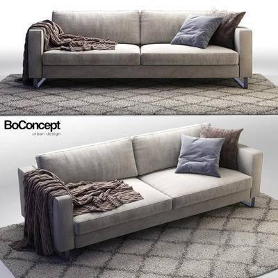 现代, 双人沙发, 沙发
