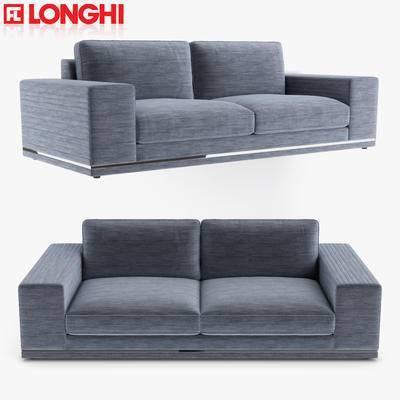2000套国外模型, 双人沙发, 沙发, 现代