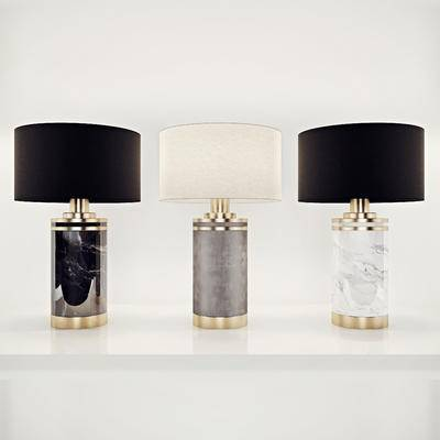 2000套国外模型, 下得乐品牌模型库, 现代, 台灯, 灯饰