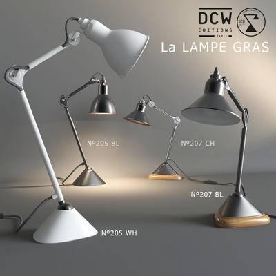 2000套高精3D单体模型, 现代, 台灯, 灯饰