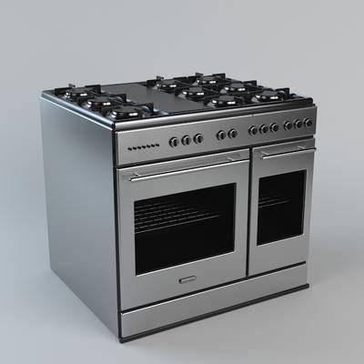 2000套高精3D单体模型, 现代, 燃气炉