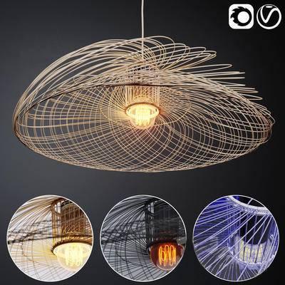 现代, 吊灯, 灯饰