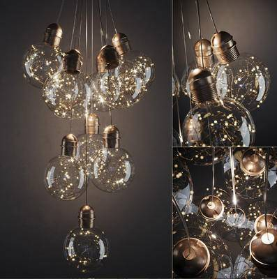 2000套国外模型, 下得乐品牌模型库, 现代, 吊灯, 灯饰
